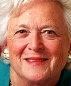 Portrait de Barbara Bush