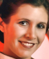 Portrait de Carrie Fisher