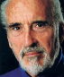 Portrait de Christopher Lee