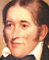 Portrait de Davy Crockett