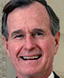 Portrait de George H. W. Bush