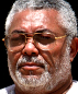 Portrait de Jerry Rawlings