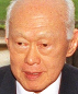 Portrait de Lee Kuan Yew