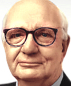 Portrait de Paul Volcker